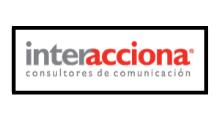Logo Agencia de Comunicación Interacciona Uruguay