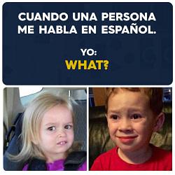 Cuando una Persona me Habla en Español