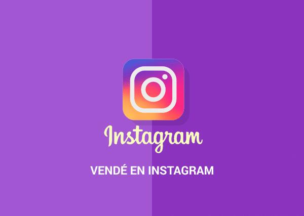 Vendé en Instagram