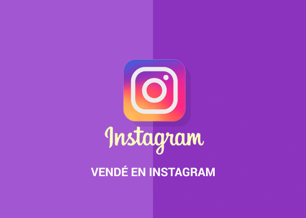 Vendé en Instagram