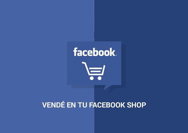 Vendé en tu Facebook Shop