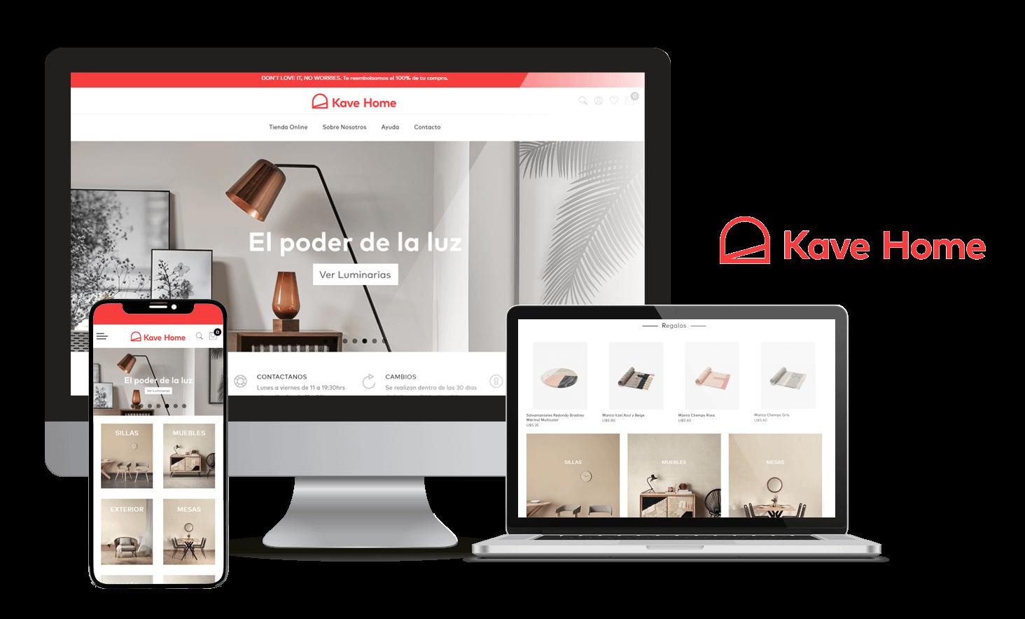 Desarrollo Tienda Online Kave Home
