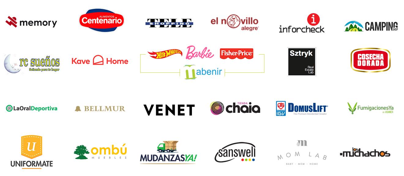 Clientes E-commerce Uruguay Logos 01