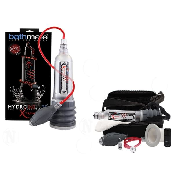 Bomba de Vacío para Pene Bathmate Hydromax X40 Uruguay 8